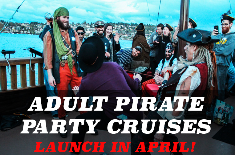 Emerald City Pirates Adult Pirate Party Cruises Flyer