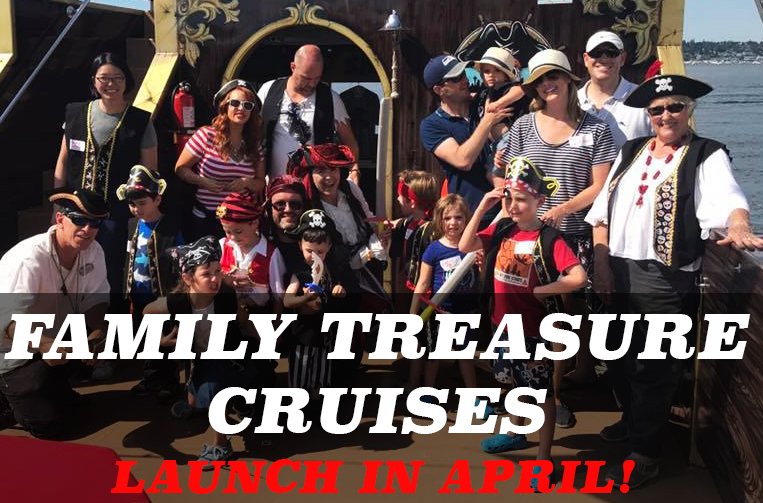 Emerald City Pirates Family Treasure Cruise Flyer