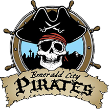 Emerald City Pirates Logo Seattle