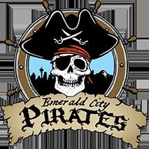 Emerald City Pirates Logo Seattle