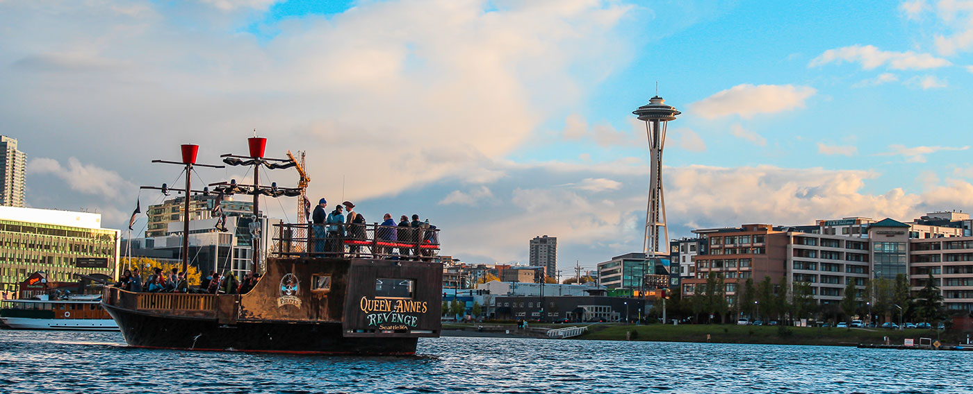 Emerald City Pirates on Lake Union Seattle