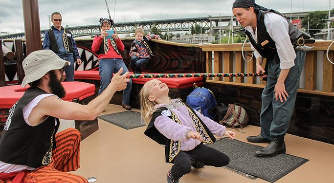 Pirate Cruises Seattle Washington